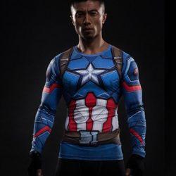captain america long shirt